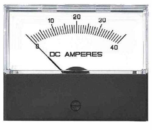 Crompton Challenger 364-01C DC - Ammeter - Center Zero.