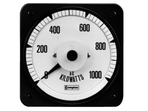 Crompton  007-218, 219 AC WATTMETERS (SWITCHBOARD)