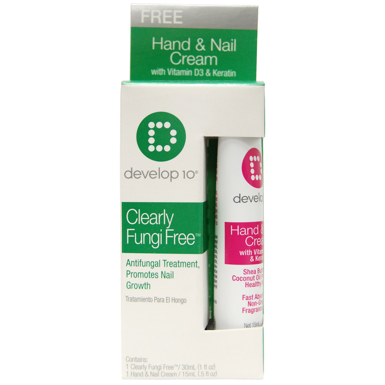 Develop 10 Clearly Fungi Free, Antifungal Treatment, Promotes Nail ...