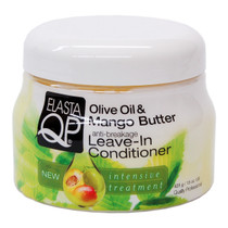 Elasta QP Olive Oil & Mango Butter Leave-In Conditioner 15 oz