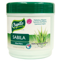 Capilo Sabila Aloe Vera Hydrates and Repairs Conditioning Cream 16 oz