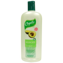 Capilo Aguacate (Avocado) Soothes and Restores Elasticity Shampoo 16 oz