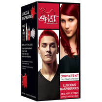 Splat Rebellious Colors Semi-Permanent Hair Dye, Luscious Raspberries