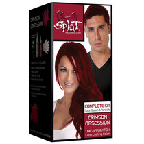 Splat Rebellious Colors Semi-Permanent Hair Dye, Crimson Obsession