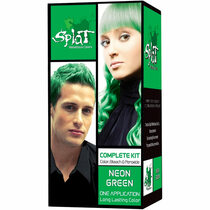Splat Rebellious Colors Semi-Permanent Hair Dye, Green Neon