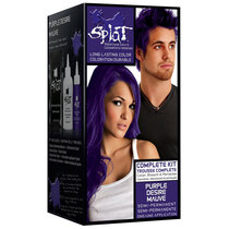 Splat Rebellious Colors Semi-Permanent Hair Dye, Purple Desire