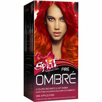 Splat Rebellious Colors Semi-Permanent Hair Dye, Fire Ombre