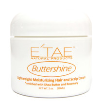 E'TAE Buttershine Moisturizing Hair And Scalp Cream 2 oz
