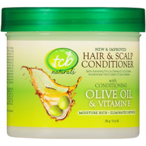 TCB Naturals Hair & Scalp Conditioner With Olive Oil & Vitamin E 10 oz