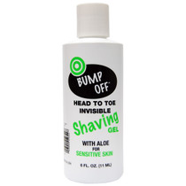 Bump Off Invisible Shaving Gel 6 oz