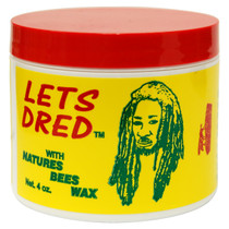 Lets Dred Natures Bees Wax 4 oz