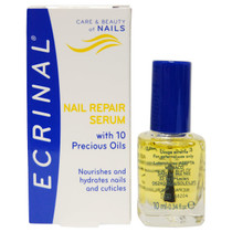 Ecrinal Repair Serum with 10 Precious Oils for Nails, 0.34 oz