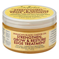 Shea Moisture Jamaican Black Castor Oil Strengthen Grow & Restore Edge Treatment 4 oz