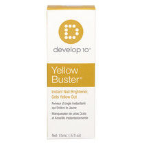 Develop 10 Yellow Buster, Instant Nail Brightener, Gets Yellow Out, 15ml
