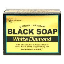 Sunflower Black Soap - White Diamond 0.5 oz