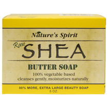 Nature's Spirit Raw Shea Butter Soap 5 oz