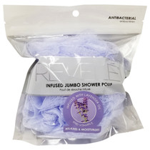 Donnamax Revele Infused Jumbo Shower Pouf - Lavender Oil