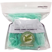 Donnamax Revele Infused Jumbo Shower Pouf - Tea Tree Oil