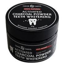 Dear Derm 100% Natural Activated Charcoal Powder Teeth Whitening, 60g