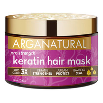 Arganatural Gold Pro Strength Keratin Hair Mask 12 oz
