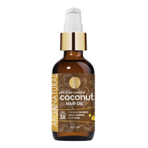 Arganatural Gold Pro Frizz Control Coconut Hair Oil 4 oz