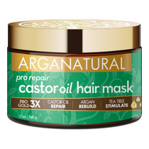 Arganatural Gold Pro Repair Castor Oil Hair Mask 12 oz