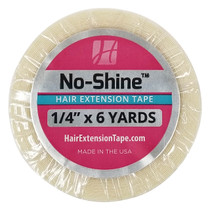 """Walker Tape, No-shine Hair Extension Tape Roll, 1/4""""x6 Yards"""