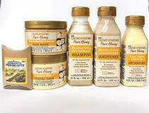 Creme of Nature Pure Honey kit: Shampoo, Conditioner, Detangler, Hair Mask & Twisting Cream with Shea Butter