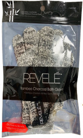 Revele Bamboo Charcoal Bath Gloves