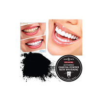 Dearderm 100% Natural Activated Charcoal Powder Teeth Whitening 60g