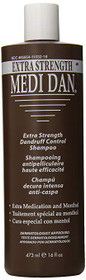 Clubman Extra Strength Dandruff Treatment Shampoo, 16 Fluid Ounce