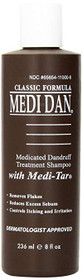 Clubman Medi Dan Classic Medicated Dandruff Treatment Shampoo, 8 Fluid Ounce
