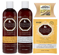 Hask Coconut Milk & Organic Honey Haircare Set with Superior Shea Butter
