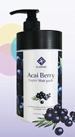 Elabore Acai Berry Super Hair Pack 33.80fl.oz/ 1000ml