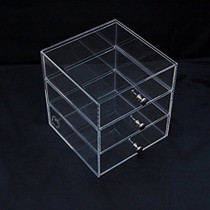 Acrylic Makeup, Cosmetic & Jewelry Organizer ICE-3D