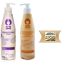Afro Love Conditioner and Shampoo 16 oz Combo