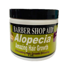 BARBER SHOP AID Alopecia Stimulating Hair Growth Hair Dressing 4 oz