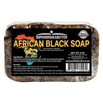 Superior African Black Soap 6oz