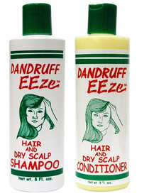 Dandruff EEze Hair - Shampoo 8oz, Conditioner 8oz