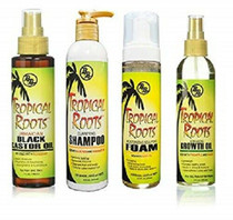 BB Tropical Roots Jamaican Combo (Black Castor Oil&Shampoo&Foam&Growth Oil)