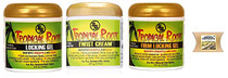 Bronner Brothers Tropical Roots With Pineapple Styling Gel and Cream Combo (CREAM&FIRM-GEL&GEL)
