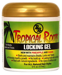 BB Bronner Brothers Tropical Roots Locking Gel, 6 Ounce