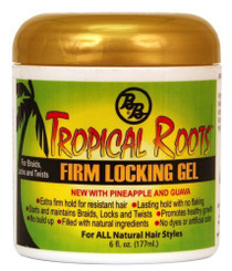 BB Bronner Brothers Tropical Roots Firm Lock Gel 6 oz