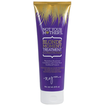 Not Your Mothers Blonde Moment Treatment Purple Conditioner 8 Oz