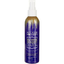 Not Your Mothers Blonde Moment Hair Spray Seal & Protect Leave-In 6 oz