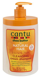 Cantu Shea Butter for Natural Hair Sulfate-Free Cleansing Cream Shampoo 25OZ