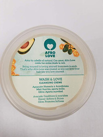 Afro Love Wash & Love Cleansing Creme 8oz
