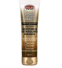 African pride black castor miracle moisture & detangling masque 8oz
