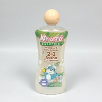 Arrurru Oatmeal Shampoo and Body Wash 2 in 1 Tear Free Hypoallergenic 13.5 oz