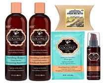 Hask Monoi Coconut Oil Nourishing Combo Set